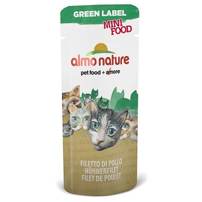 Almo Nature Green Label Mini Food 5 x 3 g