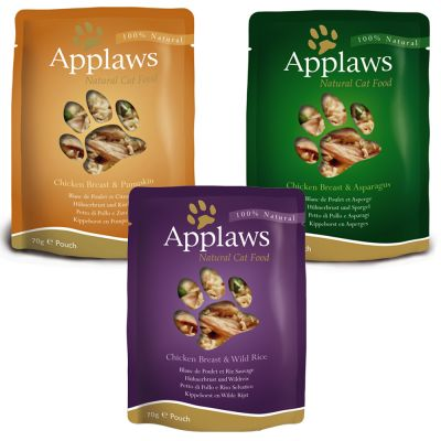 Applaws Pouches Cat Food In Broth Mixed Pack 12 X 70g At