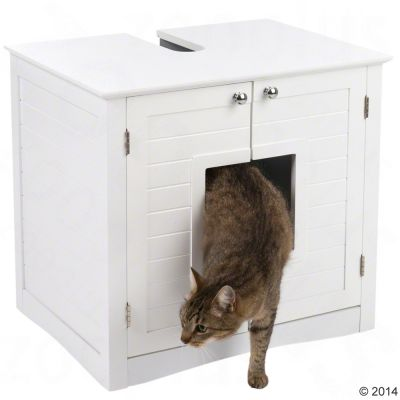 Bathroom Litter Tray Cupboard Free P P On Orders 29 At Zooplus
