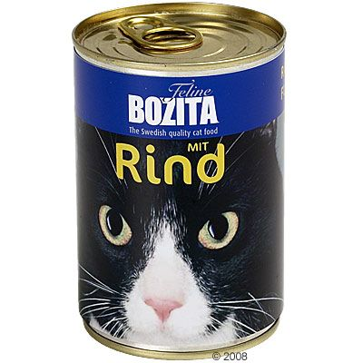 Bozita Canned Cat Food Review