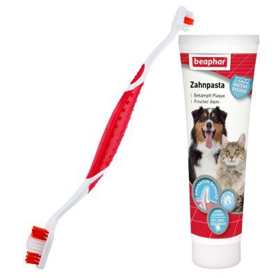 Beaphar dog a dent brosse dent dentifrice pour chien - Brosse a chien ...