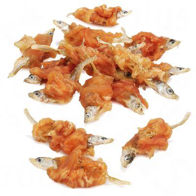Dokas pamlsek - kuřecí prsíčka s rybou