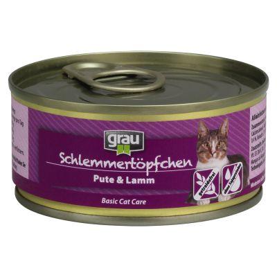 Grau Schlemmertöpfchen getreidefrei 6 x 100 g