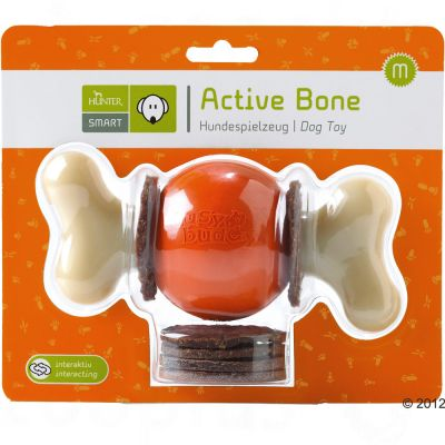Hunter Hundespielzeug Active Bone Medium