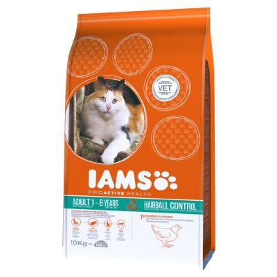 Iams Proactive Health Adult Hairball Chicken Dry Cat Food