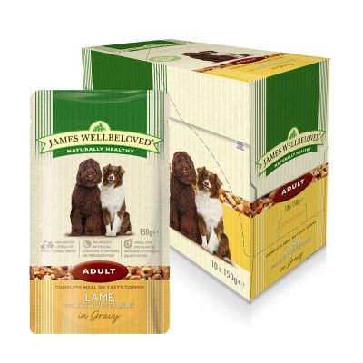 James Wellbeloved Dog Food Pouches