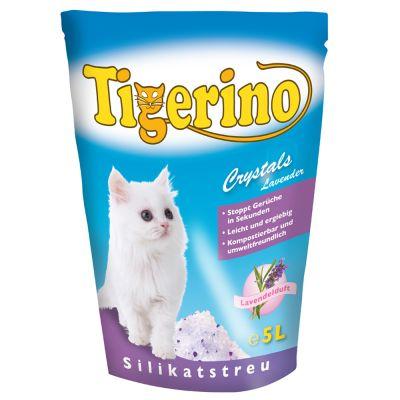 Kočkolit Tigerino Crystals Levandule