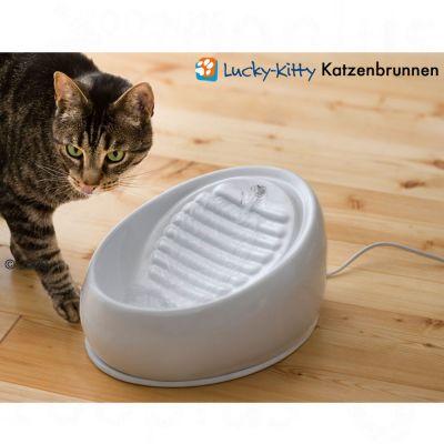 Lucky Kitty Ceramic Drinking Fountain