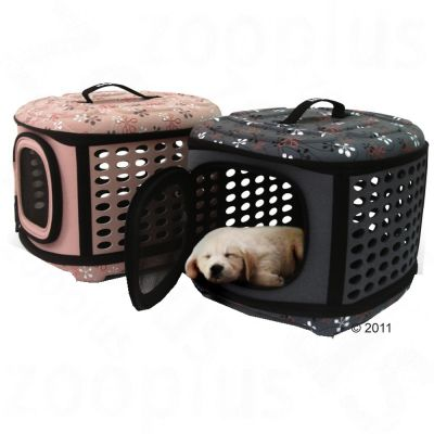Molly Foldable Pet Carrier - Grey