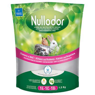 Nullodor silikátový kočkolit pro kočky a drobná zvířata