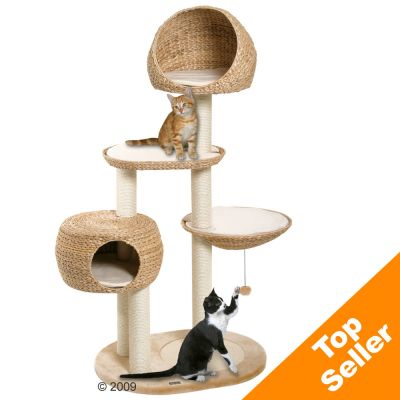 Paradise Banana-Leaf Cat Tree