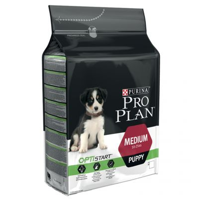 pro plan medium puppy optistart croquettes pour chien. Black Bedroom Furniture Sets. Home Design Ideas
