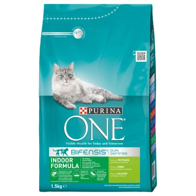 Orijen Dog Food Reviews >> Purina ONE Indoor Turkey & Whole Grains Dry Cat Food ...