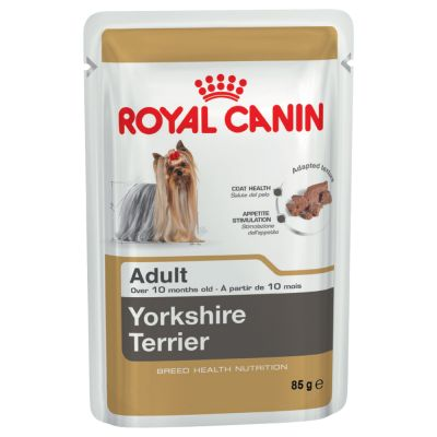 royal canin breed yorkshire terrier wet dog food top deals at zooplus. Black Bedroom Furniture Sets. Home Design Ideas