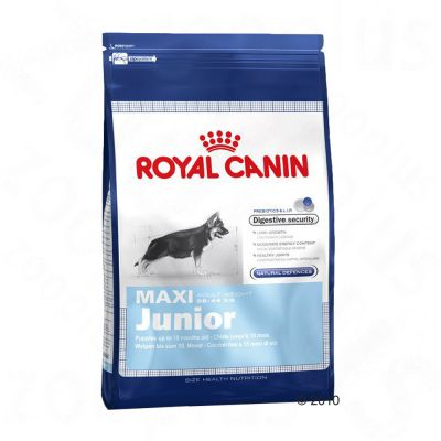 royal canin maxi junior croquettes pour chiot zooplus. Black Bedroom Furniture Sets. Home Design Ideas