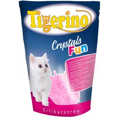 Tigerino Crystals Fun - barevný kočkolit