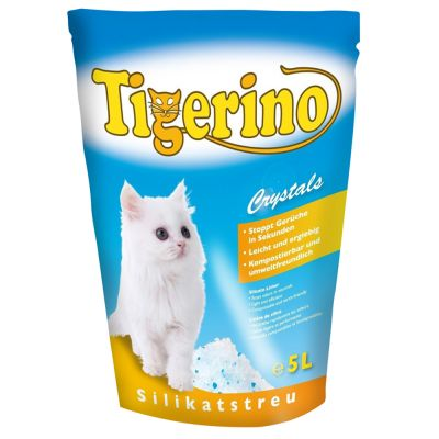 Tigerino Crystals Silicate Cat Litter