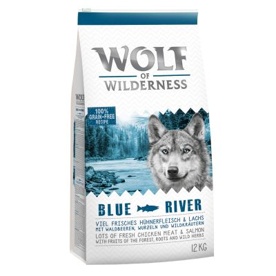 Wolf Of Wilderness Adult Blue River Salmon Exclusive To